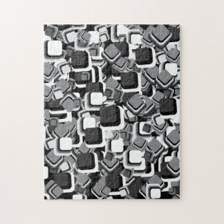 Abstract Squares Jigsaw Puzzle
