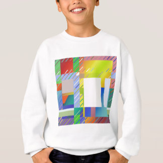 Abstract Squares Sweatshirt