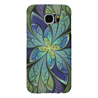 Abstract Stained Glass La Chanteuse IV Samsung Galaxy S6 Case
