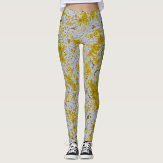 Abstract Stains Leggings