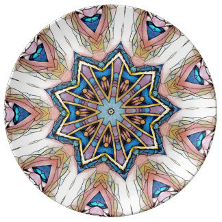 Abstract Star Art Deco Southwest Plate