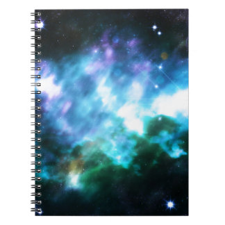 Abstract Starry Background 3 Notebook