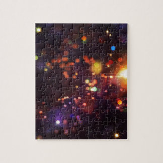 Abstract Starry Background 4 Puzzle