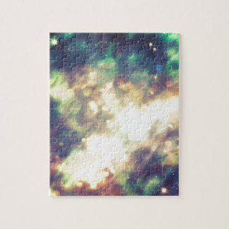 Abstract Starry Background Jigsaw Puzzle