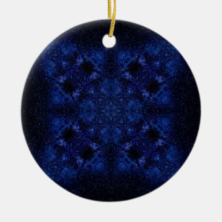 Abstract Starry Sky Ceramic Ornament