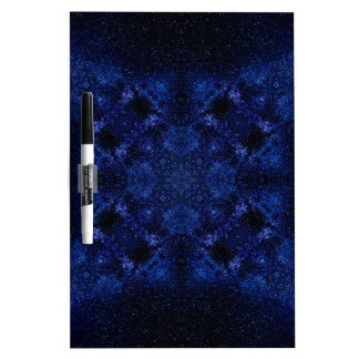 Abstract Starry Sky Dry Erase Board