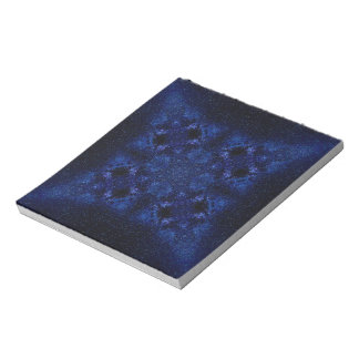 Abstract Starry Sky Notepad
