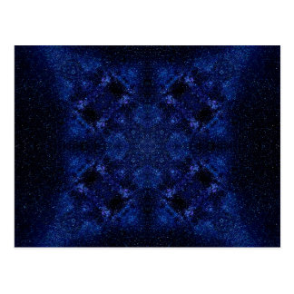 Abstract Starry Sky Postcard