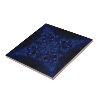 Abstract Starry Sky Tile
