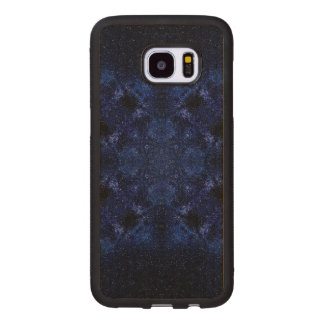Abstract Starry Sky Wood Samsung Galaxy S7 Edge Case