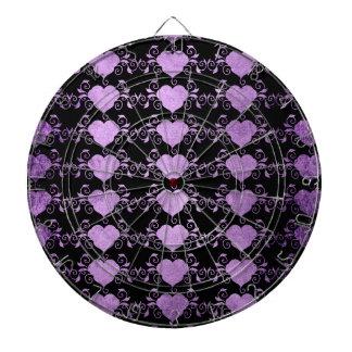 Abstract Steampunk Heart Dartboard