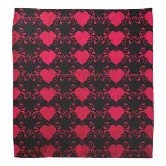 Abstract Steampunk Heart Head Kerchiefs