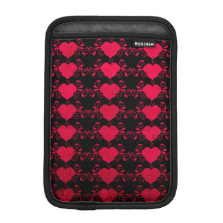 Abstract Steampunk Heart iPad Mini Sleeves