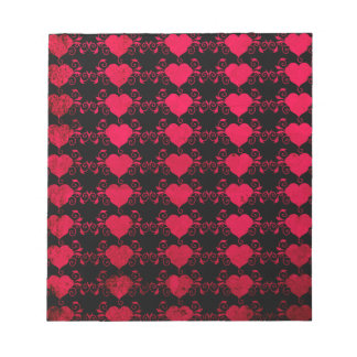 Abstract Steampunk Heart Notepads