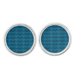 Abstract Steampunk Heart Pattern Cufflinks