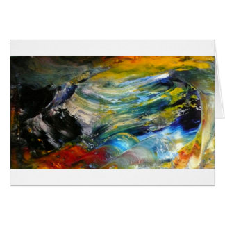 Abstract Storm Cell Card