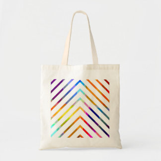 Abstract Stripes. Budget Tote Bag