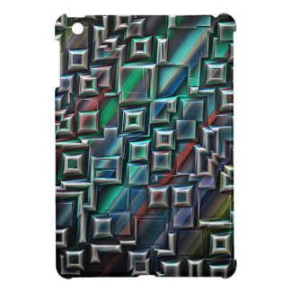 Abstract Stripes Geometry iPad Mini Covers