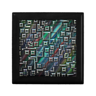 Abstract Stripes Geometry Trinket Boxes