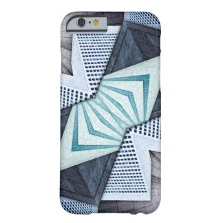 Abstract Structural Collage Barely There iPhone 6 Case