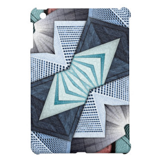 Abstract Structural Collage Cover For The iPad Mini