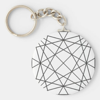 Abstract structure keychains