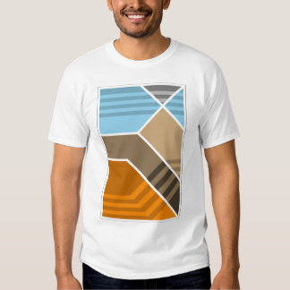 Abstract Subduction Zone Geology Shirt