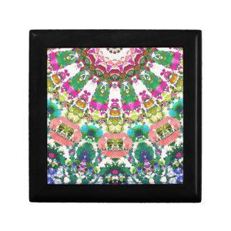 Abstract Sun Rays Mosaic Gift Box