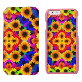 Abstract Sunflowers Art Incipio Watson™ iPhone 6 Wallet Case