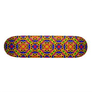 Abstract Sunflowers Art Skate Board
