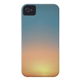 Abstract Sunset iPhone 4 Cover