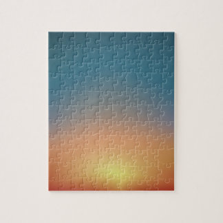 Abstract Sunset Jigsaw Puzzle