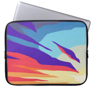Abstract Sunset Laptop Sleeve