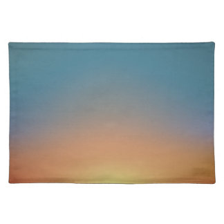 Abstract Sunset Placemat
