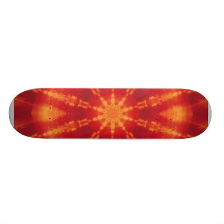 ABSTRACT SUNSET SKATE BOARDS