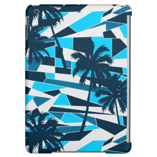 Abstract surf palm trees iPad air cover