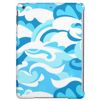 Abstract surf waves iPad air cover