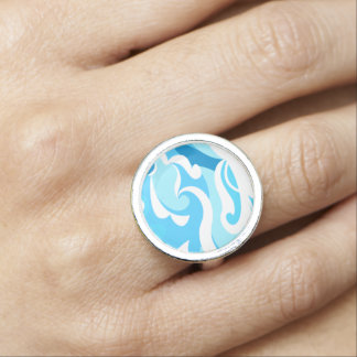 Abstract surf waves ring
