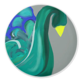 Abstract Swan Knob