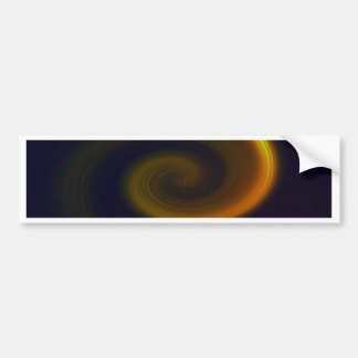 Abstract swirl. bumper sticker