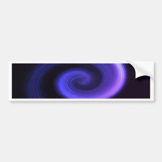 Abstract swirl. bumper sticker