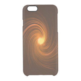 Abstract swirl. clear iPhone 6/6S case
