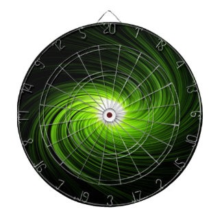 Abstract swirl. dart board