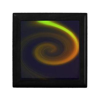 Abstract swirl. gift box