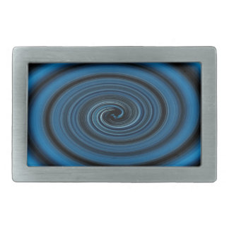 Abstract swirl. rectangular belt buckle