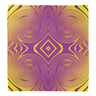 Abstract swirl texture bandana