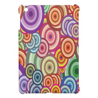 Abstract Swirls iPad Mini Cover