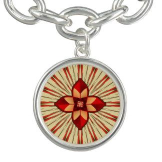 Abstract symbolism bracelets