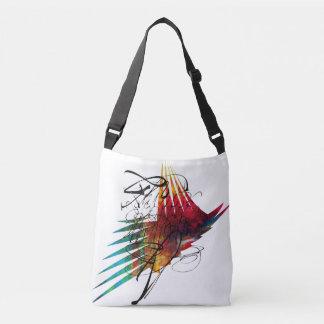 Abstract Symbolism  Cross Body Bag
