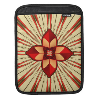 Abstract symbolism iPad sleeve